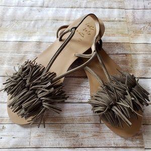 Riley fringe sandal